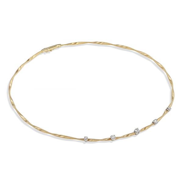 Marco Bicego Halskette Marrakech Couture Gold & Diamanten CG337 B1 YW