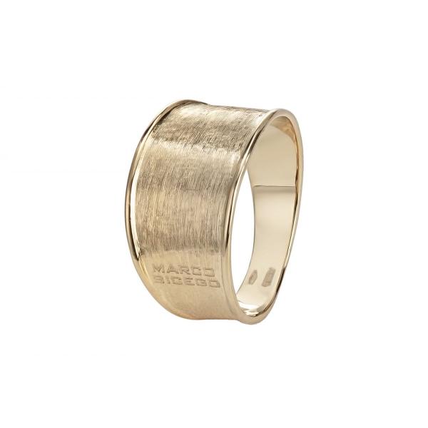 Marco Bicego Ring Lunaria AB549: Massiver Bandring aus 18 Karat Gold