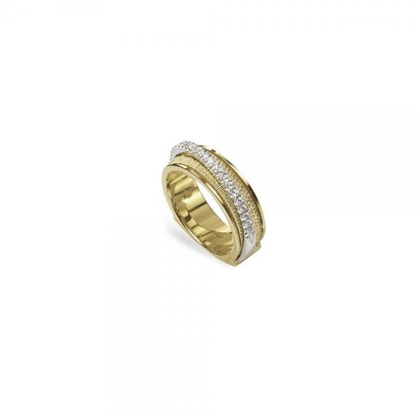Marco Bicego Ring Cairo aus Gold 18 Karat mit Diamanten AG321-B  | UHREN01