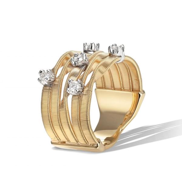 Marco Bicego Ring Gold & Diamanten Marrakech AG157 B YW