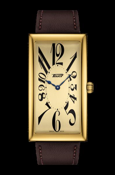 Tissot Heritage Armbanduhr BANANA CENTENARY EDITION T117.509.36.022.00
