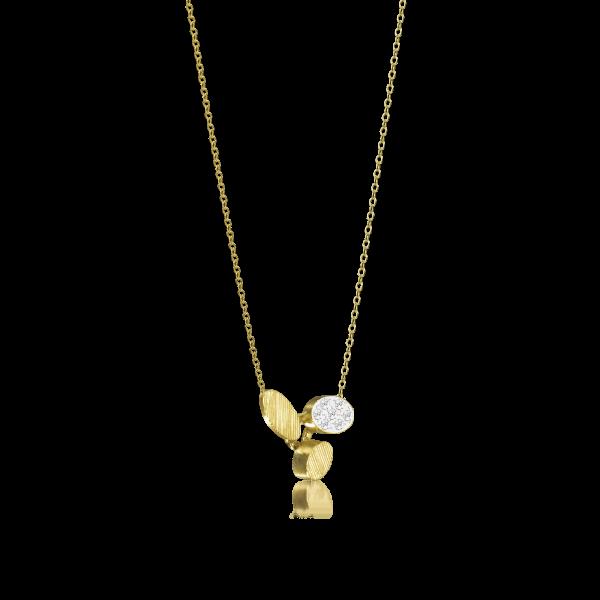 Luisa Rosas Halskette Gold mit Diamanten XS BE LRBE102