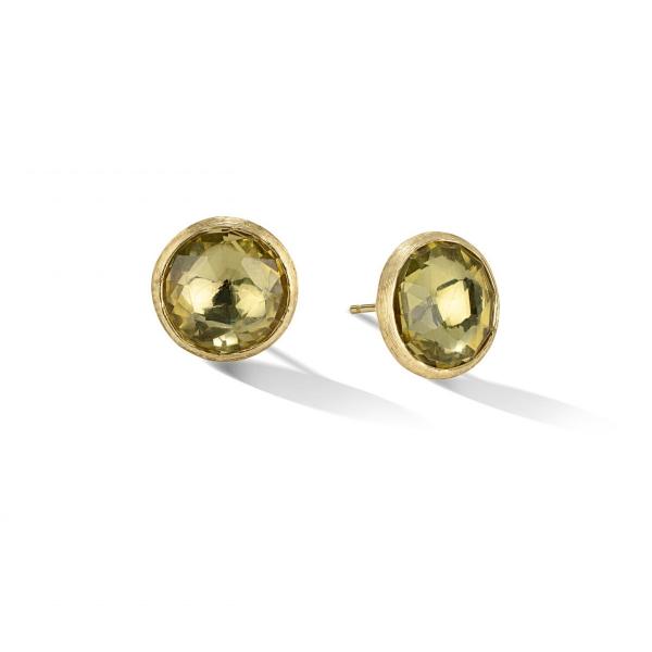 Marco Bicego Ohrringe Gold mit Lemon Citrinen Jaipur Color OB1739 LC01 Y