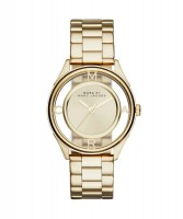 Marc Jacobs MBM3413 Tether Damenuhr Gold farbig