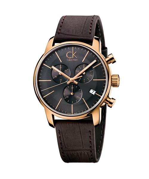 Calvin Klein Uhr city chrono Chronograph K2G276G3