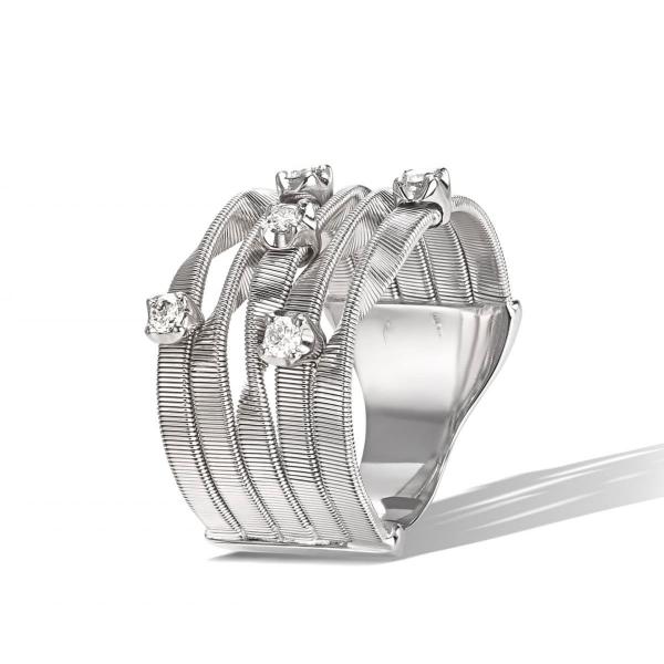 Marco Bicego Ring Weißgold & Diamanten Marrakech AG157 B W