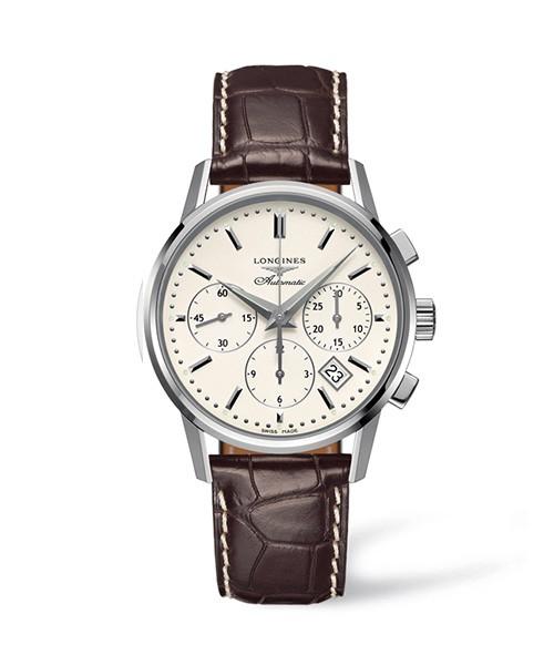 Longines Column Wheel Chronograph L2.749.4.72.2 Herrenuhr