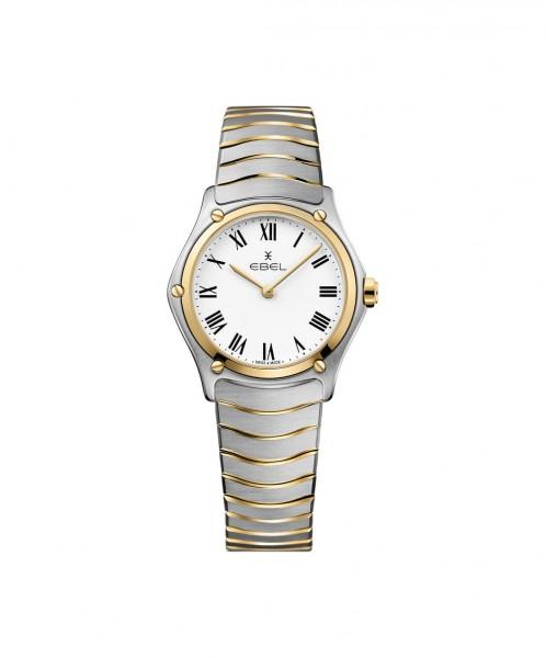 EBEL Damenuhr Sport Classic Lady Quarz Bicolor Gold Edelstahl | Sale | UHREN01