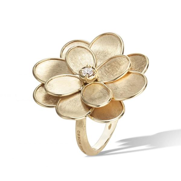 Marco Bicego Ring Gold & Diamanten Petali AB606 B Y