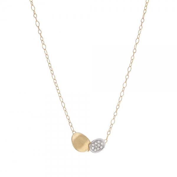 Marco Bicego Kette Lunaria Gold mit Diamanten CB1965-B-YW