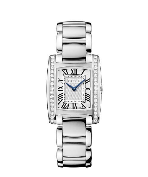 Ebel Brasilia Mini 1216068 Damenuhr mit 34 Diamanten (0,544ct)