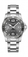 Longines HydroConquest Automatic Grau 41mm Edelstahl-Armband L3.781.4.76.6 | UHREN01