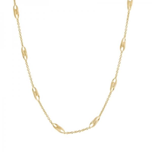 Marco Bicego Halskette Lucia Collier mit Gliedern aus Gold 18k Kette 46cm CB2363-Y-02 | UHREN01