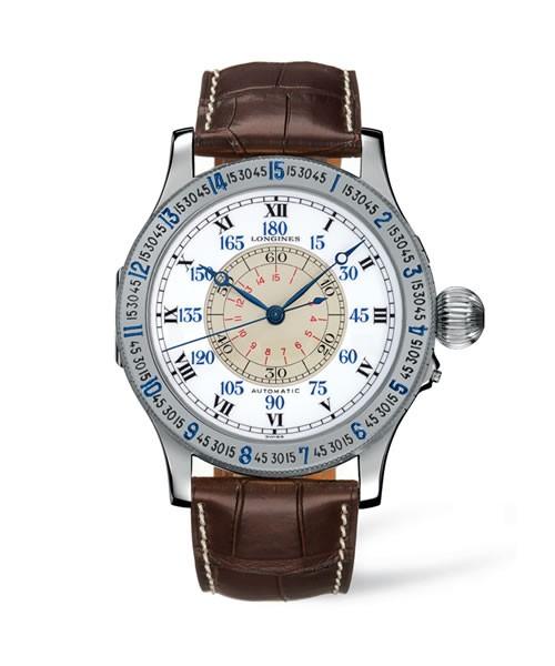 "Longines Heritage Automatik Herrenuhr ""The Lindbergh Hour Angle"" Legend Stundenwinkel L2.678.4.11.0"