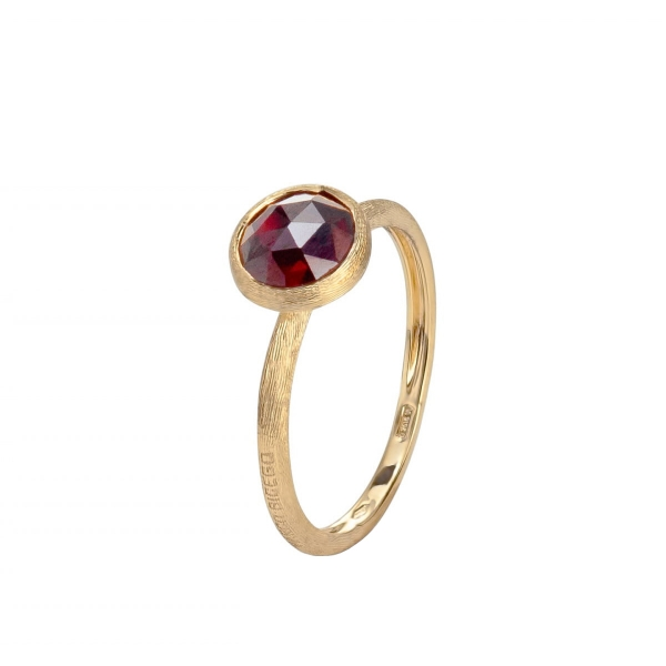 Marco Bicego Ring Jaipur Gold mit Granat Edelstein AB471-RG01