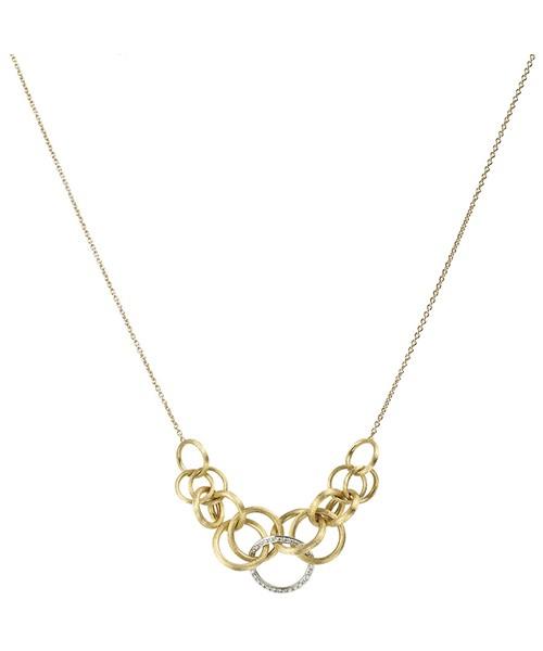 Marco Bicego Halskette Jaipur Link Gold & Diamanten CB1688-B | UHREN01