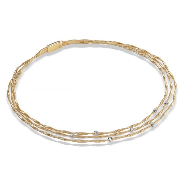 Marco Bicego Halskette Gold & Diamanten Marrakech CG338 B YW