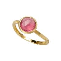Marco Bicego Jaipur Ring mit rosa Turmalin Edelstein Gold 18 Karat AB471-TR01 | Uhren01