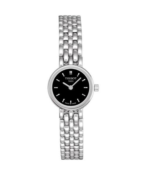 Tissot Lovely Damenuhr schwarz 19mm Edelstahl-Armband Quarz T058.009.11.051.00