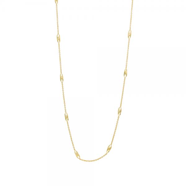 Marco Bicego Halskette Lucia Collier mit Gliedern aus Gold 18k Kette 100cm CB2458-Y-02   UHREN01
