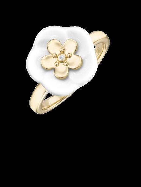 Meissen Ring Gelbgold Royal Blossom MPJ10BL35700