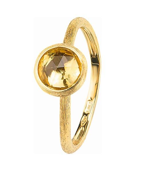 Marco Bicego Ring Gold mit Lemon Citrin Edelstein Jaipur AB471-LC01