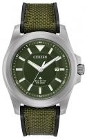 Citizen Promaster Land Tough Herrenuhr 42mm Eco Drive Nylon-Armband grün BN0211-09X zum günstigen Preis online kaufen | UHREN01