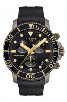 Tissot Seastar 1000 Chronograph T-Sport Herren Quarz Uhr Taucheruhr T120.417.37.051.01 schwarz