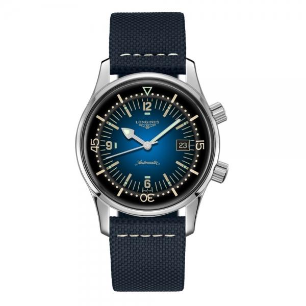 Longines Legend Diver Watch Blau Taucheruhr Automatik L3.774.4.90.2