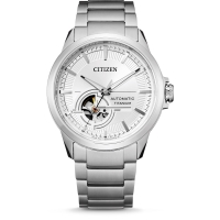 CITIZEN NH9120-88A Automatik aus Duratect Super-Titanium in silber