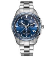 Rado HyperChrome XXL Chronograph 45mm blau Edelstahl-Armband Herrenuhr Quarz R32259203 | Uhren01