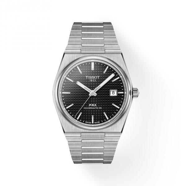 Tissot PRX Powermatic 80 Automatik Schwarz Herren-Uhr T137.407.11.051.00