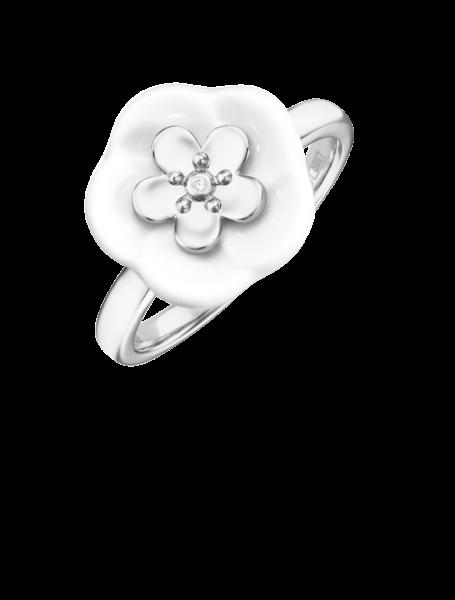 Meissen Ring Weißgold Royal Blossom MPJ10BL25700