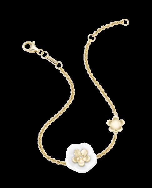 Meissen Royal Blossom Armband 2 Blüten MPJ30BL358C19