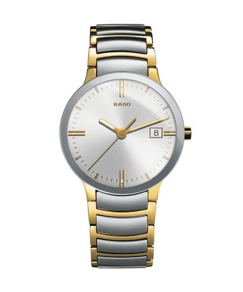 Rado Centrix L R30931103 Herrenuhr Bicolor Silber Gold