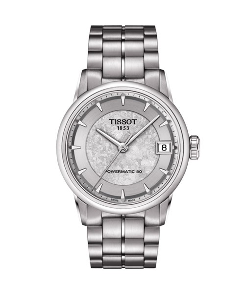 Tissot Luxury Automatic Jungfraubahn Special Edition Damenuhr silber 33mm T086.207.11.031.10
