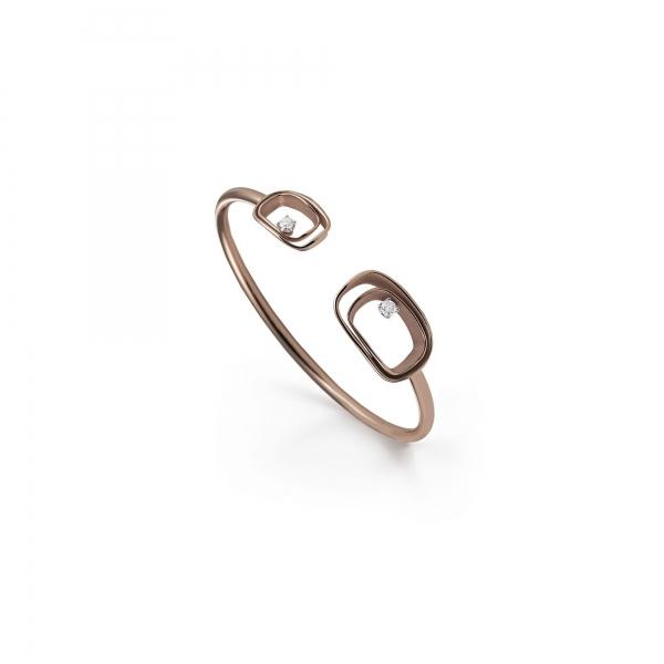 Annamaria Cammilli Armband 18 Karat Brown Chocolate Gold & Diamanten Armspange Serie Uno GBR2791C | UHREN01