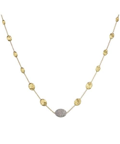 Marco Bicego Halskette Siviglia 18 Karat mit Diamanten CB1730-B