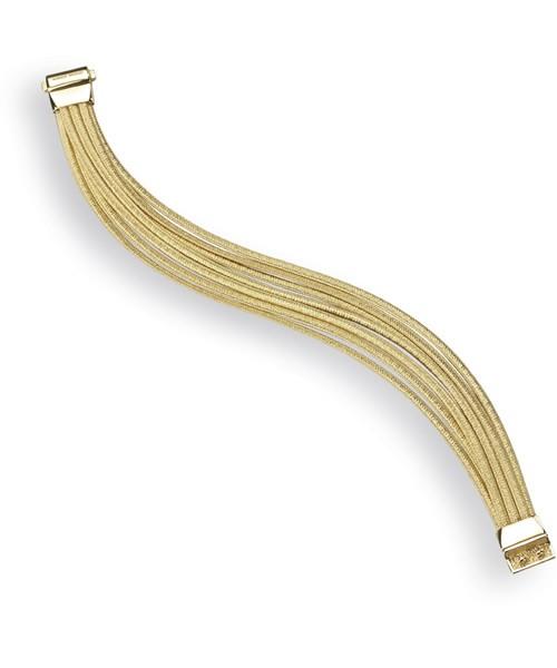 Marco Bicego Cairo Armband sieben Stränge aus Gold 18 Karat BG693 | UHREN01