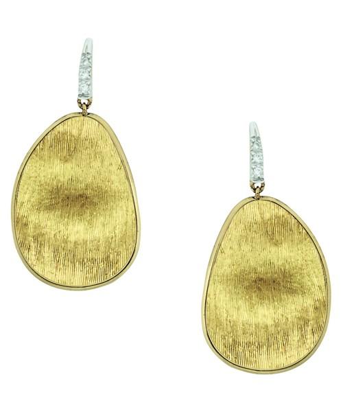 Marco Bicego Ohrringe Diamond Lunaria Ohrhänger aus Gold mit Diamanten OB1343-AB1Y