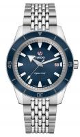 Rado Captain Cook Blau Edelstahl 42mm Automatik Uhr Herren R32505203
