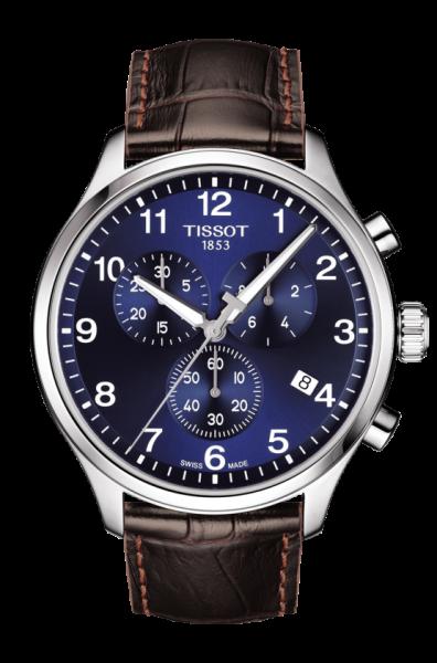 TISSOT CHRONO XL CLASSIC Herren Lederarmband Chronograph T116.617.16.047.00
