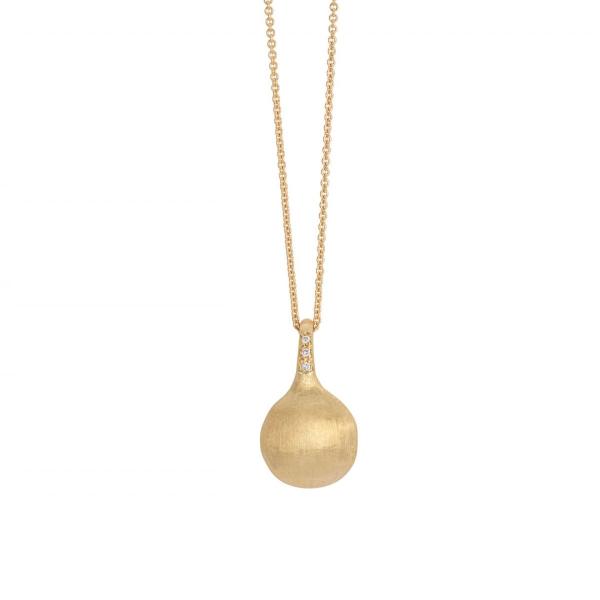 Marco Bicego Kette & Anhänger Diamanten Gold 18 Karat Africa CB2493 B Y
