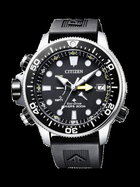 Citizen Promaster Eco Drive Aqualand Herrenuhr schwarz BN2036-14E