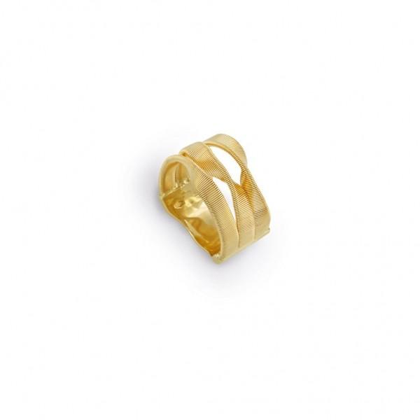 Marco Bicego Ring Marrakech 3 Stränge Gold 18 Karat AG328