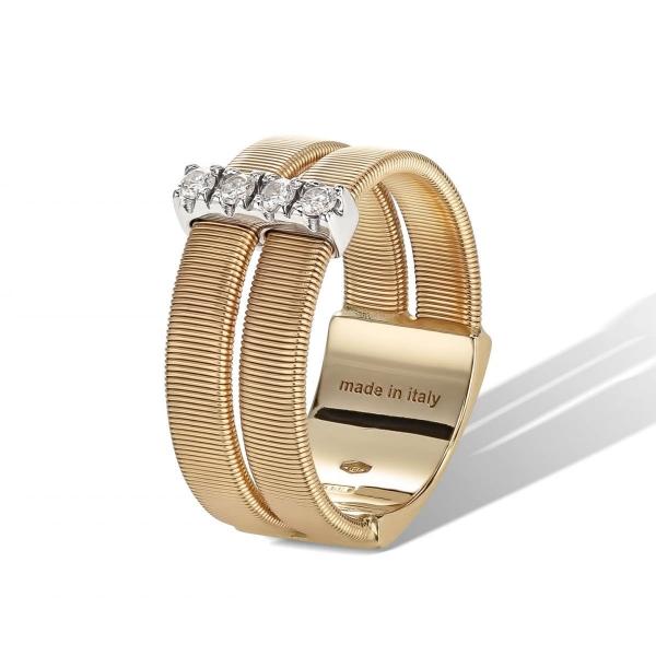 Marco Bicego Ring Masai Gold mit Diamanten AG344 B YW
