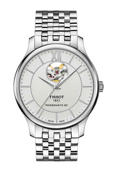 Tissot Tradition Powermatic 80 Open Heart (T063.907.11.038.00)