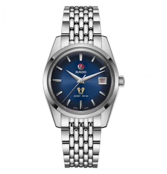 Rado Golden Horse Limited Edition Uhr Automatic mit blauem Zifferblatt 37mm R33930203