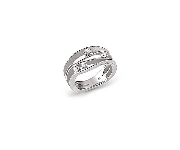 Annamaria Cammilli Damen Ring DUNE aus 750er Weißgold mit 0,27ct Diamanten GAN0778W