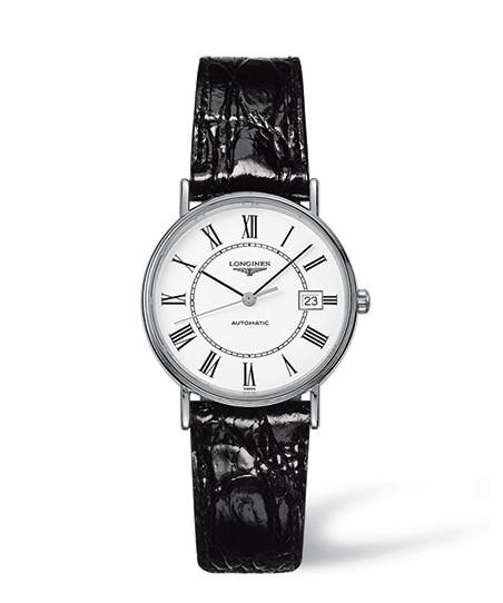 Longines Presence Automatic Damen Uhr 33mm mit weißem Zifferblatt L4.821.4.11.2
